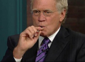 david letterman cigarette electronique