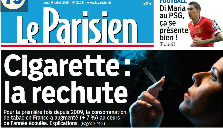 cigarette en hausse 2015