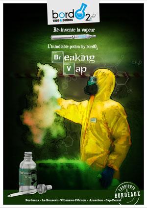 e-liquide Breaking Vape !