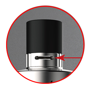 Airflow réglable Drip Tip Protank 4