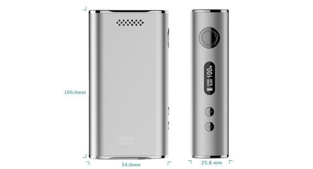 iStick 100W Taille