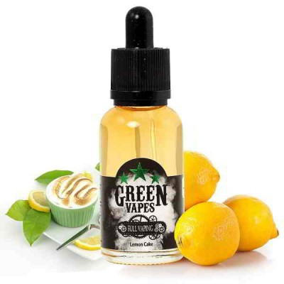 E-liquide Green Vapes Lemon Cake Full Vaping