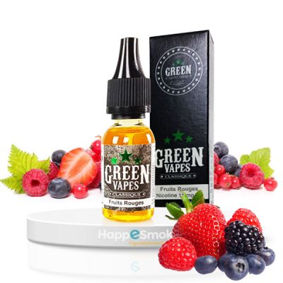 E-liquide Green Vapes Fruits Rouges