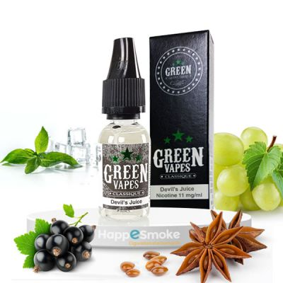 E-liquide Green Vapes Devil's Juice