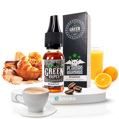 E-liquide Green Vapes Breakfast