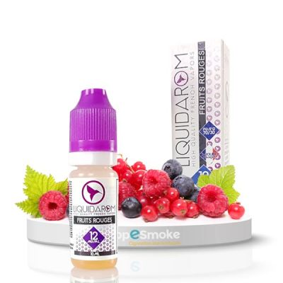 e-liquide Fruits rouges Liquid'Arom