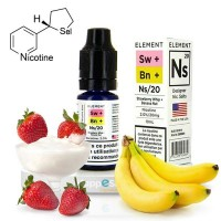E-liquide Strawberry Whip /Banana Nut Designer - Element