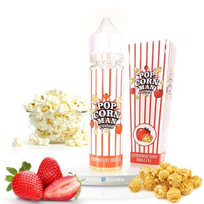 E-liquide Strawberry Drizzle 60ml - Pop Corn Man