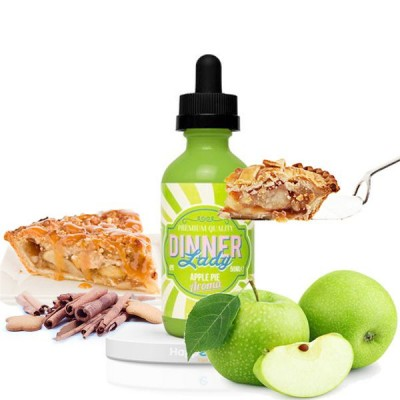 E-liquide Apple Pie 50 ml - Dinner Lady