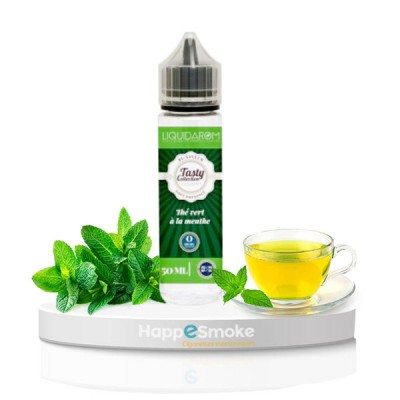 Thé Vert Menthe 50 ml Tasty Collection - Liquidarom