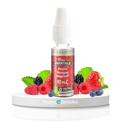 Fruits Rouges Végétol 10 ml - Liquidarom