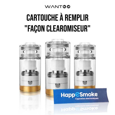 Cartouche Wantoo Clearomiseur 1.2ml - UD