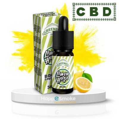 E-liquide CBD Lemon Haze 10ml - Greeneo