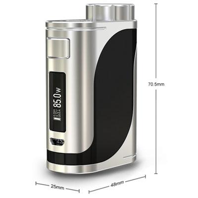 Dimensions de la box iStick Pico 25