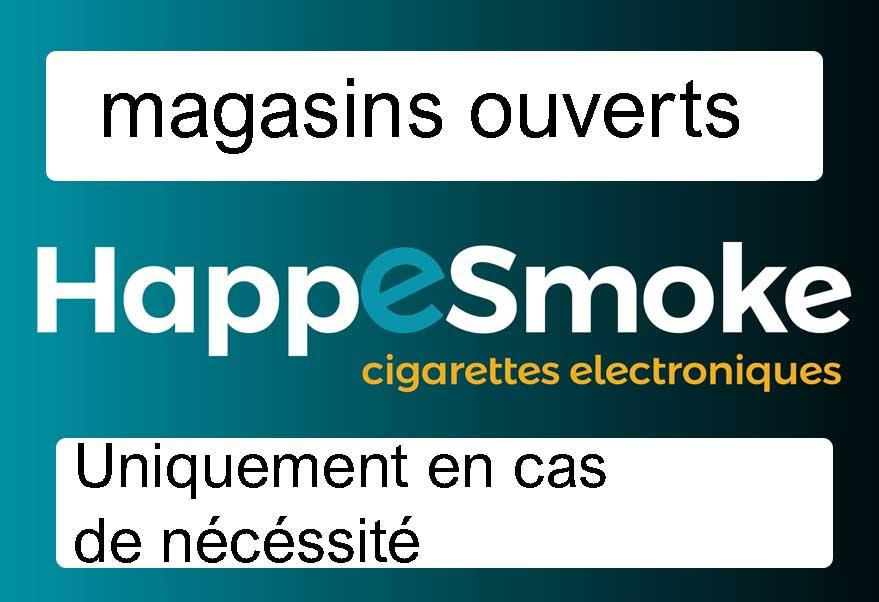 magasin cigarette électronique ouvert coronavirus