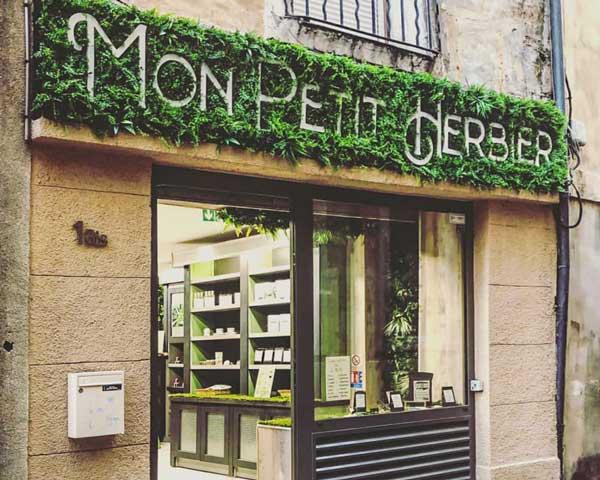 Boutique CBD à Aix-en-Provence Mon Petit Herbier
