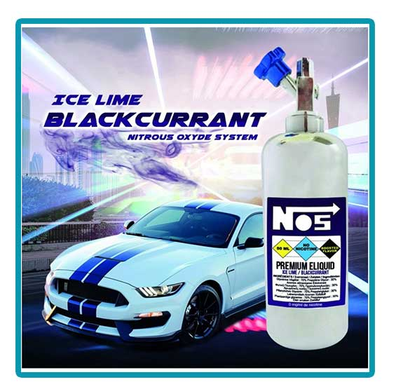 e-liquide nos ice lime blackcurrant number 5
