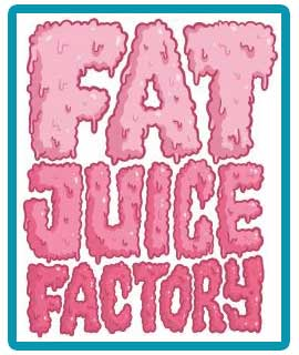 Logo Fat Juice Factory de Pulp