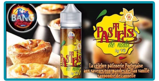pasteis de nata big bang juice 50 ml