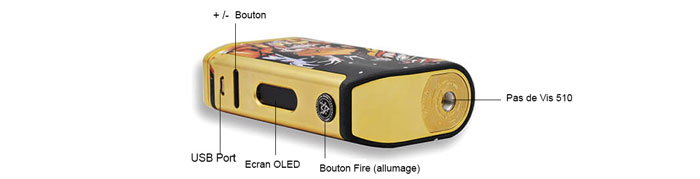 michael mod v2 200w Walkind dead edition