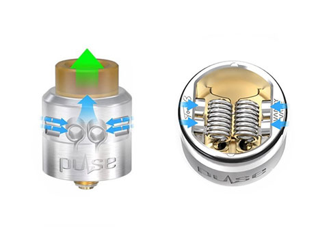 airflow du Pulse 24 BF